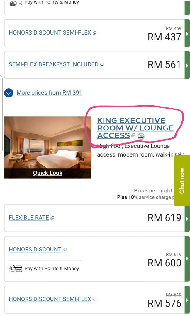 ~1/2 price,  for stay at DoubleTree by Hilton Hotel Johor Bahru