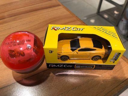 RMZ City Ford 2015 Mustang 連電單車扭蛋