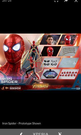 Hottoys Iron Spider訂單