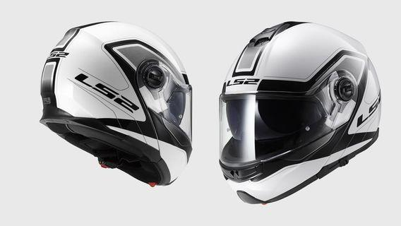 Motorcycle Helmet LS2 strobe civik brand new size M