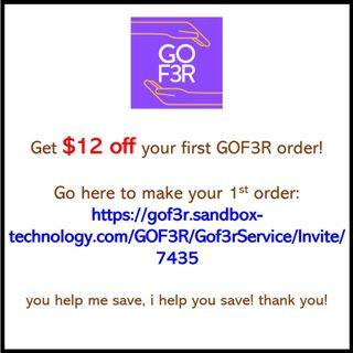 Food Delivery   Promo code   Discount Code   1st Order   https://gof3r.sandbox-technology.com/GOF3R/Gof3rService/Invite/7435