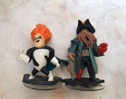 Disney Infinity The Incredibles Syndrome and Pirates of Caribbeans