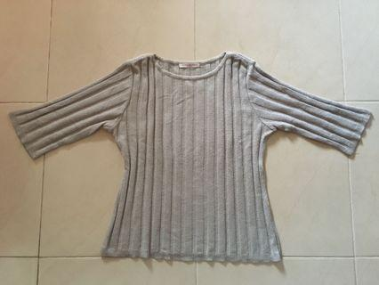 Sweater Grey Top