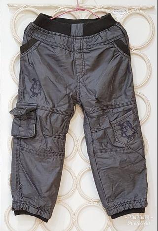 《PinPin館》>童裝 兩層長褲 內刷毛長褲 防風長褲 2件350元