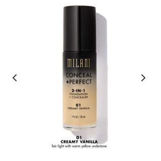 ⚡️FINAL SALE MILANI FOUNDATION CREAMY VANILLA