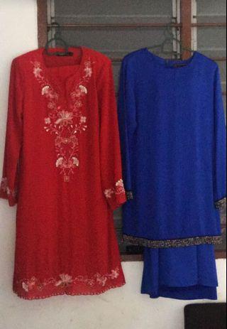 Baju Kurung Moden #preloved #letgo  2pasang RM200.