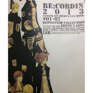 [進擊的巨人同人本] Re: Cordin (日文漫畫) [團長X兵長]