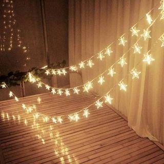 Usb 10M LED Fairy Light Star fairylights warm white