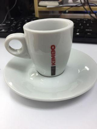 Kimbo Espresso Cup and Saucer Ceramic 咖啡杯