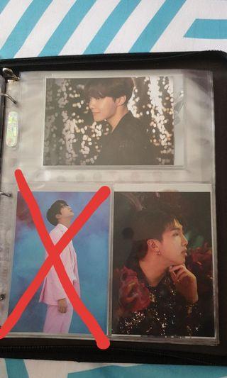 VT x BTS Official postcards