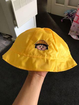 New chibi maruko chan kids water and wind proof hat