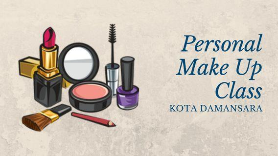 PERSONAL MAKE UP CLASS
