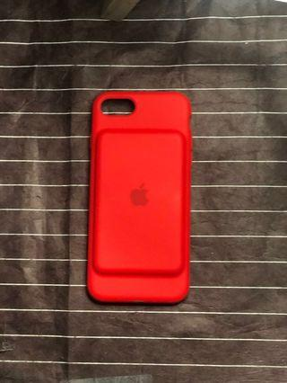 iPhone 7 Case Charger in RED
