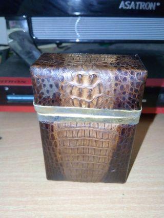 #BAPAU Kotak roko kulit asli