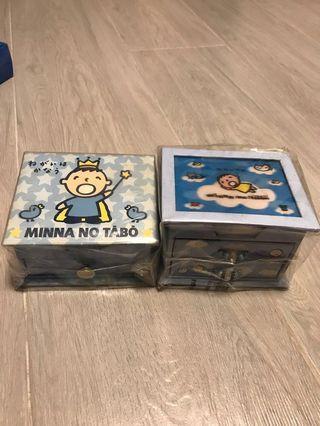 MINNA NO TABO Memo box 大口仔便條紙盒