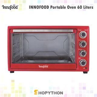 INNOFOOD Electric Oven 60L Convection 60 Liter Independent Temperature Control