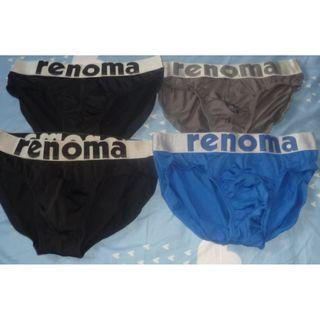 NEW Renoma Paris Male Men brief jockstrap Underwear Size L