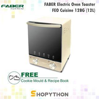 FABER 12L Electric Oven Toaster FEO Cuisine 12 BG