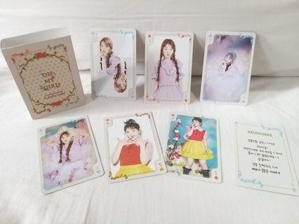 Oh My Girl Seung Hee 小卡 Playing Card