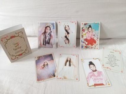 Oh My Girl Jiho 小卡 Playing Card