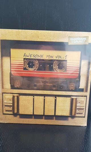 🚚 Guardians of the galaxy original motion picture soundtrack awesome mix vol. 1 LP vinyl record