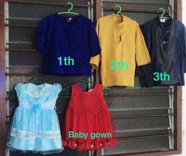 #Preloved #letgo  baju raya anak