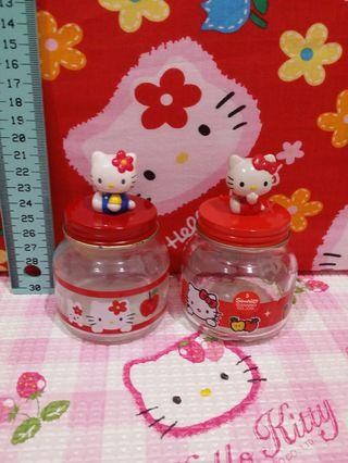 Kitty Glass Container Set