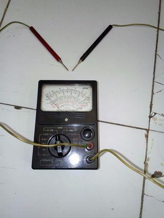 #BAPAU Multimeter analok atau avo meter