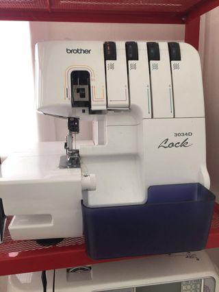 Brother 3034D Stitch Machine (Mesin Jahit Tepi)