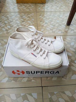 Superga Cotu Mid White 2754