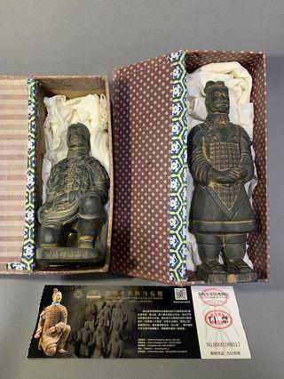 兵馬俑 跪射勇 將軍 西安購入 全新正品
