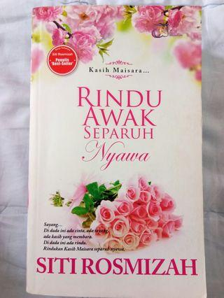 Novel Rindu Awak Separuh Nyawa