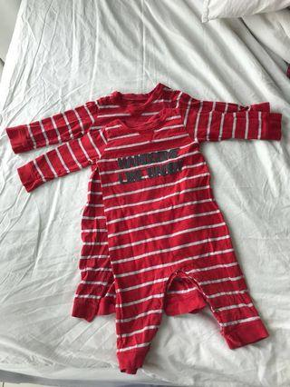 Sleepsuits for twins