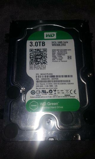WD 3.5吋 3TB 硬碟