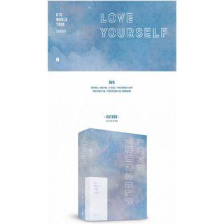 BTS LOVE YOURSELF EUROPE DVD