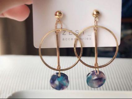 🚚 手工設計耳環