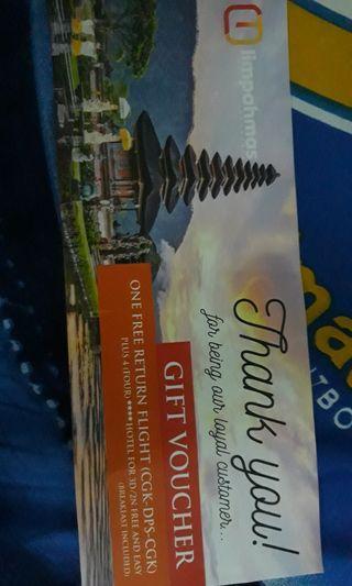 Voucher ke Bali