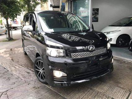 TOYOTA VOXY 2011 Zs Valve Matic FACELIFT