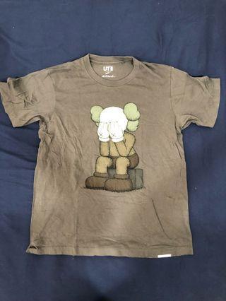 Kaws uniqlo shirt