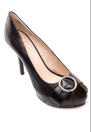 REPRICED!! Nine West Qwill Heels (Black; Size 7)