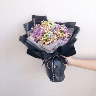 Baby's breath flower | Fresh flower bouquet| birthday flower |Graduation Flower | birthday flower | Anniversary Gift | Flower delivery | 毕业花束 |满天星花束 |鲜花运送