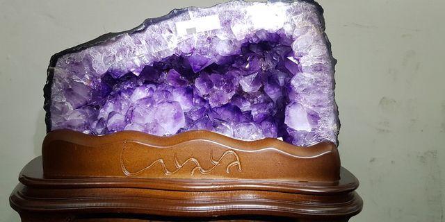 巴西紫晶洞 10.58kg 土型 超低價5XXX