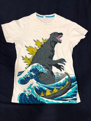 Godzilla threadless shirt