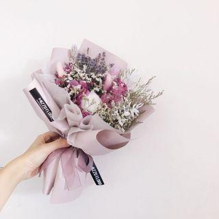 Preserved Dried flower bouquet| Birthday Gift | Anniversary Flower | Graduation Flower | Surprise Gift | Flower Delivery | 干花 花束 |生日花束 |鲜花运送