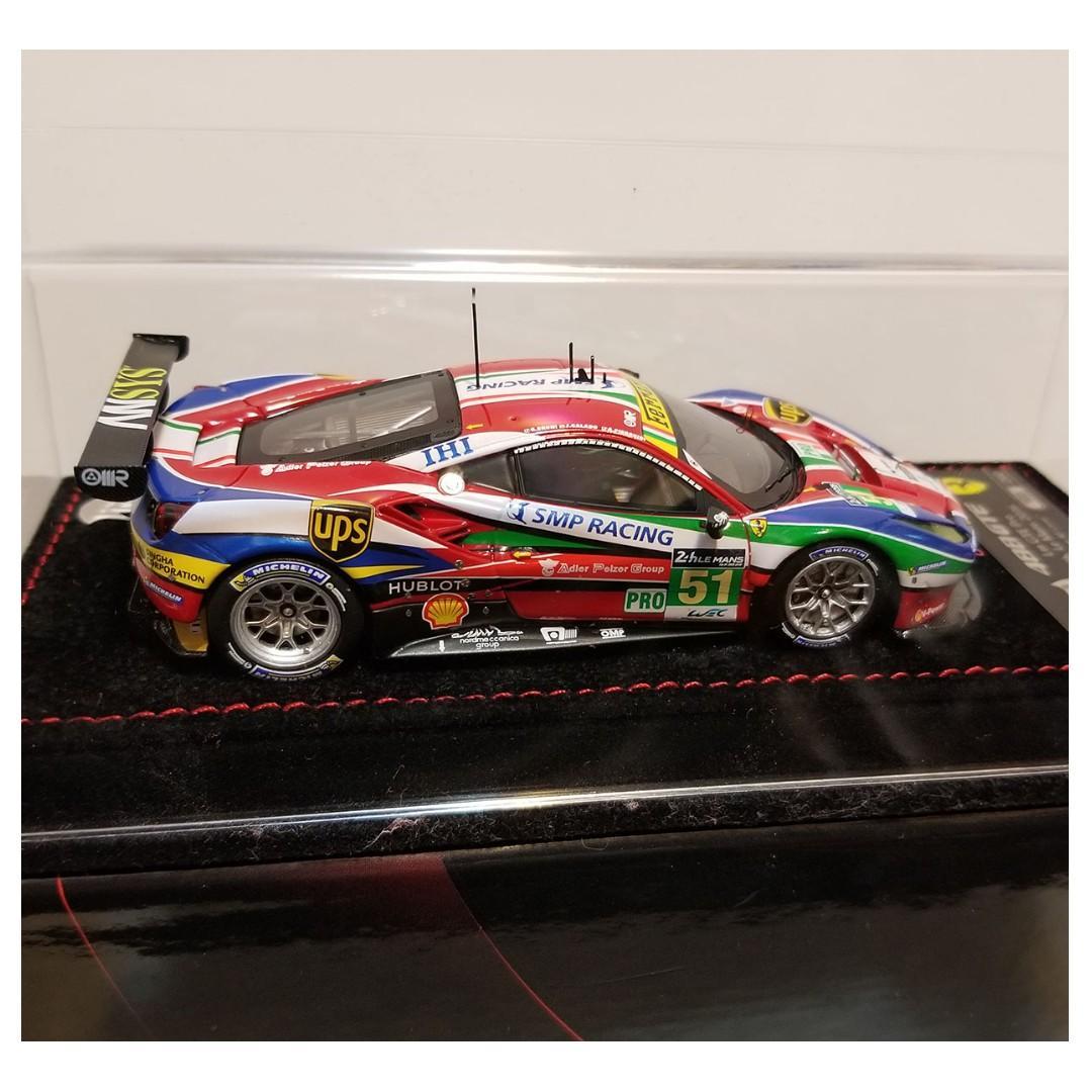 1/43 BBR Ferrari 488 LM GTE 24h lemans 2016 looksmart autoart kyosho spark fujimi