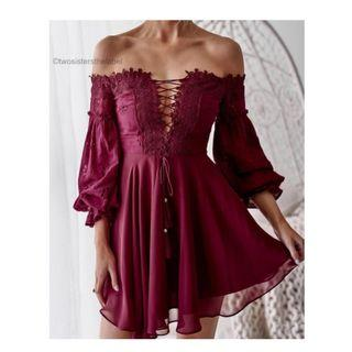 BTBC Emma Dress Red