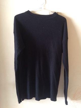 sweater rajut boxy