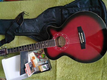 🚚 新手 吉他 (附背帶、工具組