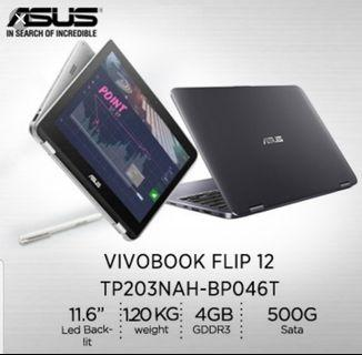🚚 Preloved Asus TP203 2 in 1 Tablet portable PC