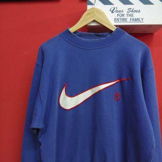 Vintage Nike Big Swoosh Pullover Sweatshirt